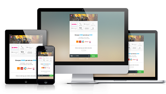 responsive payment page